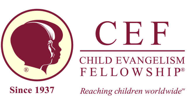 The logo for Child Evangelism Fellowship, an Evangelical para-church ministry founded in the 1930s. The Dourtes adopted the techniques of this organization and, as a result, saw attendance at their church increase.