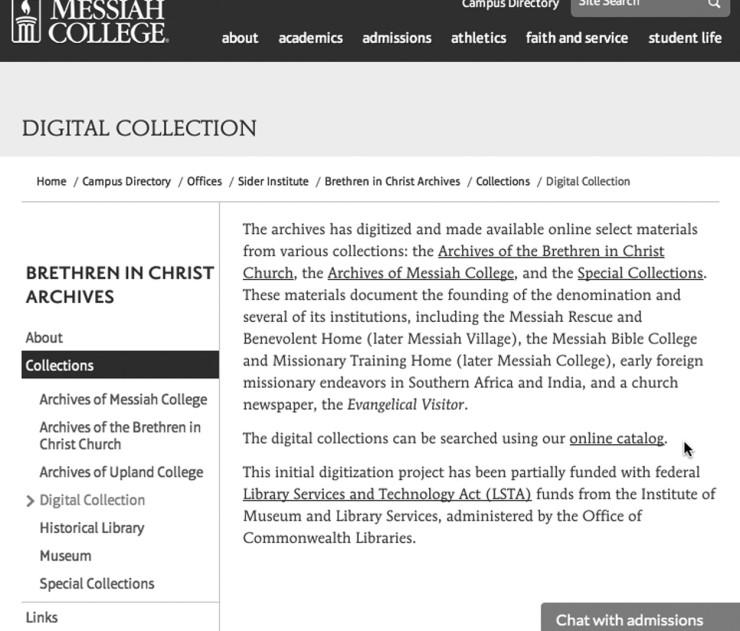 1 - Online catalog link