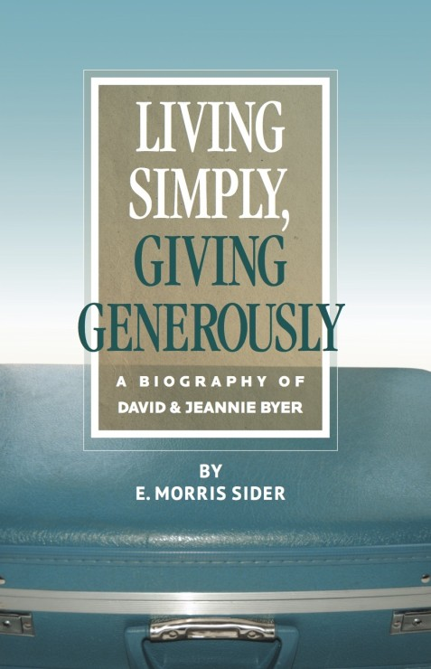 Living Simply, Giving Generously
